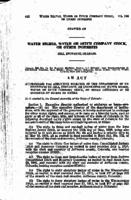 Authorizing the Executive Director of the Department of Institutions to Sell, Exchange, or Lease Certain Water Rights, Water or Ditch Company Stock, Or Other Interests in or Evidence of Rights to Water.